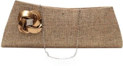 StyleSaga Brown  Clutch