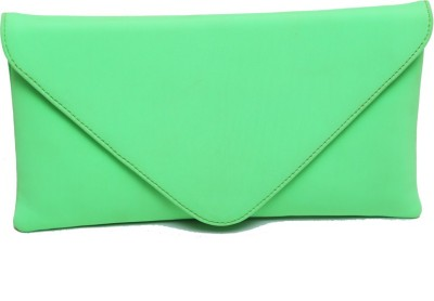 SG Collection Girls Casual Green  Clutch