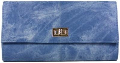 Heels & Handles Women Casual, Festive, Formal, Party Blue  Clutch