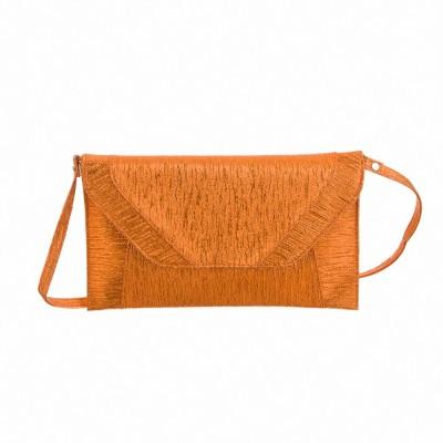 Peaubella Casual Orange  Clutch