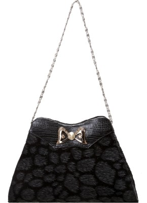 Tripssy Casual, Party Black  Clutch