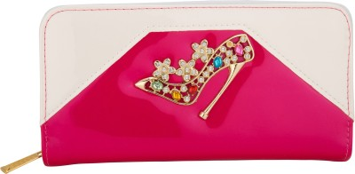 Aliza Women Party Pink  Clutch