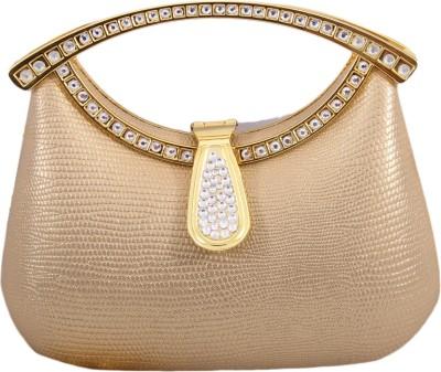Pinkdivaas Formal Gold  Clutch