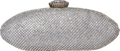 Rialto Silver  Clutch