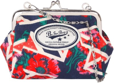 Be for Bag Casual Blue  Clutch