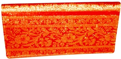 Indha Craft Women Casual Orange  Clutch