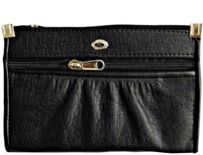 Fusion Clutches Casual, Party Black  Clutch