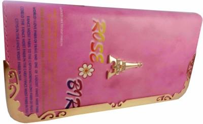 Casanova Fashion Pink, White  Clutch