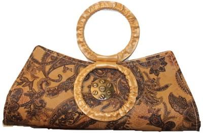 Malika Malhotra Fashion Studio Brown  Clutch