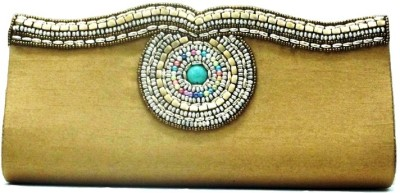 Sunita Fashion Wedding, Festive Yellow  Clutch
