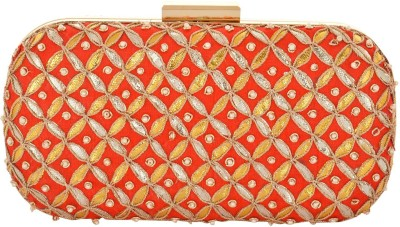 Arisha kreation Co Party Red  Clutch
