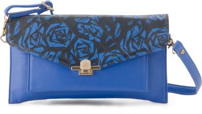 Falah Bag Works Women Casual Blue  Clutch