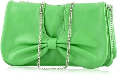 Butterflies Women Casual Green  Clutch