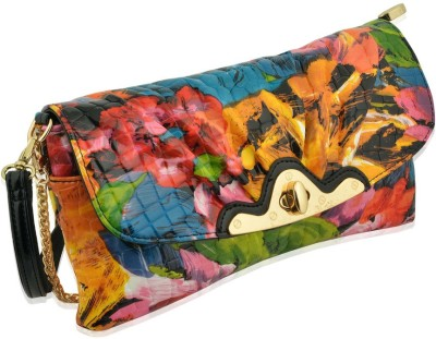 Artisan Crafted Party Multicolor  Clutch