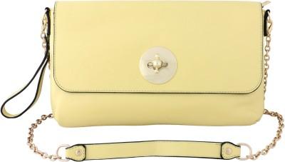 Priya Exports Yellow  Clutch