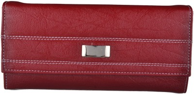 Exotique Casual Red  Clutch