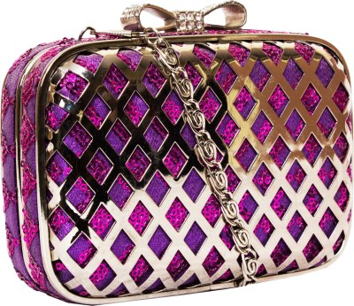 Rialto Purple  Clutch