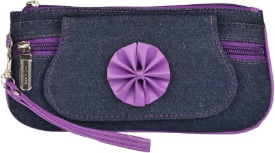 Fristo Women Casual Purple  Clutch