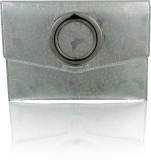 Zeppar Women Casual Silver  Clutch