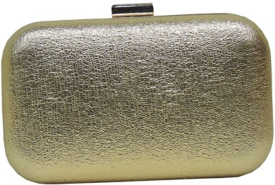 Mex Women Casual, Wedding Gold  Clutch