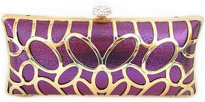 Glamora Purple  Clutch