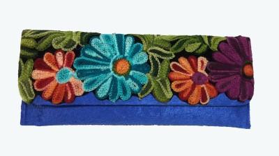 Estella Women Festive Blue  Clutch