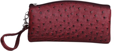 Whate Look Casual Red  Clutch