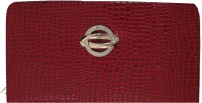 Kmu Traders Casual, Wedding, Party, Formal, Festive Maroon  Clutch