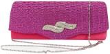 Laviva Women Pink  Clutch