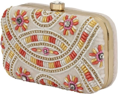 Jupiter Party White, Multicolor  Clutch