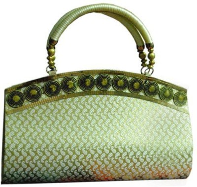 Arti Women Party Green  Clutch