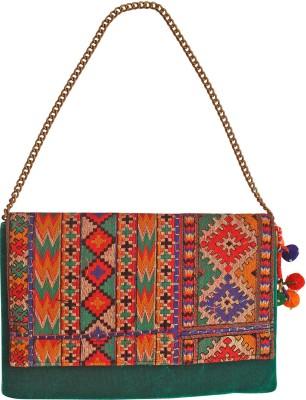 Stylocus Women Festive Multicolor  Clutch