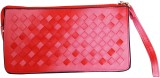 Parv Collections Women Pink  Clutch
