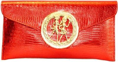Women Trendz Women Party Red  Clutch