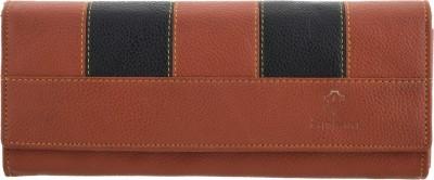 Fashion Leather Casual Orange  Clutch