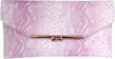 Womaniya Women, Girls Festive Pink  Clutch
