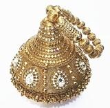 Shree Kala Fashions Women Gold  Clutch