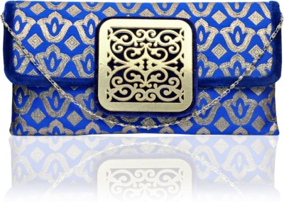 MYT Girls Party Blue  Clutch