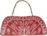 Asian Aura Women Red  Clutch