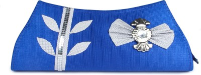 D AUSTIN KING Casual, Party Blue  Clutch