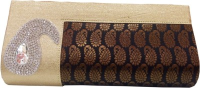 HAND CRAFT Black  Clutch