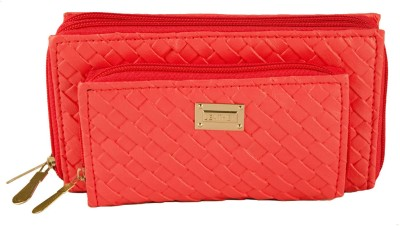 Magiq Girls Casual, Formal Orange Artificial Leather Wallet