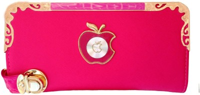 Fashion Leather Party, Casual Pink  Clutch