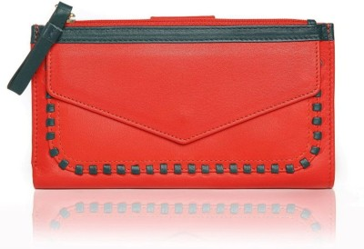 TLB Women Casual Red  Clutch