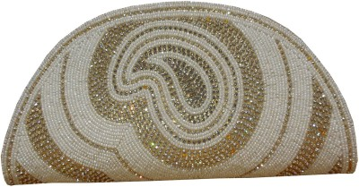 Spice Art Party White  Clutch
