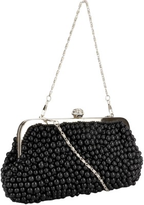 Swiss Design Women Casual Black  Clutch
