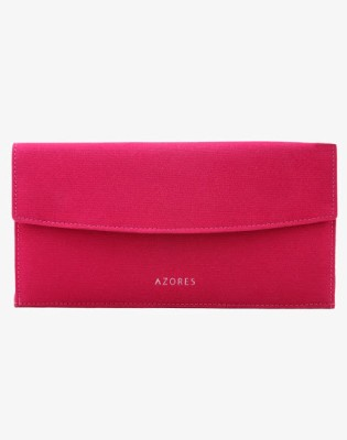 Azores Women Casual Pink  Clutch