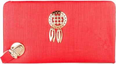Louise Belgium Casual Red  Clutch