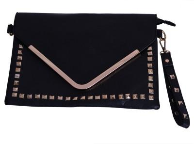 Zizelle Women Casual Black  Clutch