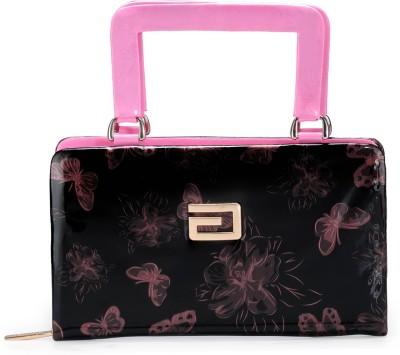 Bags Craze Women Festive, Wedding, Casual Black, Pink  Clutch
